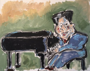 Fats Domino by Tom Russell