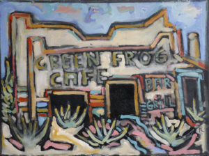 The Green Frog Café by Tom Russell
