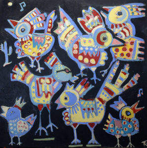 Jazz Chickens by Tom Russell
