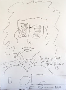 Positively Bob Dylan by Tom Russell