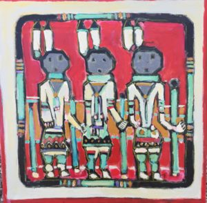 Yei Navajo Figures by Tom Russell