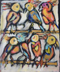 Parrots by Tom Russell