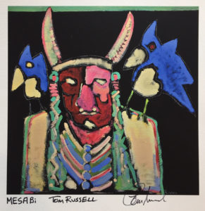 Mesabi print by Tom Russell