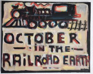 October in the Railroad Earth #1 by Tom Russell