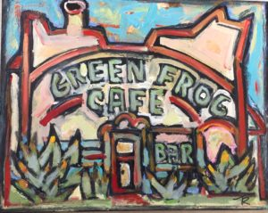 Green Frog Cafe #3 by Tom Russell