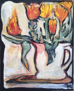 Easter Tulips by Tom Russell