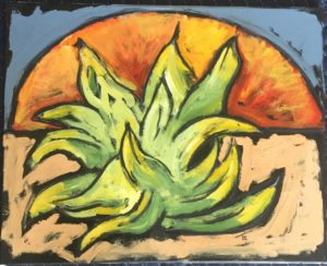 Agave Sunrise by Tom Russell