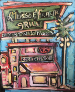 Musso Frank Grill by Tom Russell