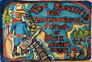 First International Folk Festival by Tom Russell