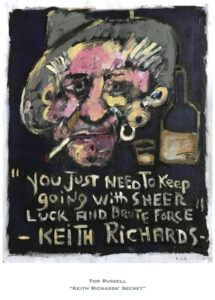 Keith Richards' Secret by Tom Russell