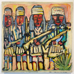 Apaches with Geronimo by Tom Russell