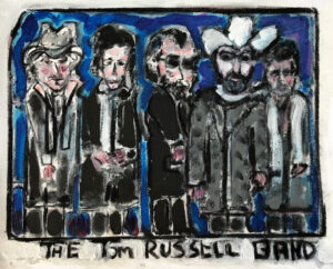 The Tom Russell Band – 1980s by Tom Russell
