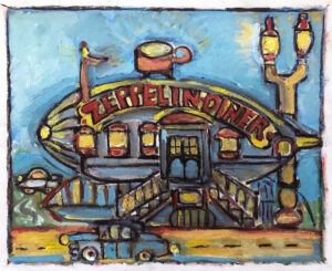 MttAD The Zeppelin Diner – L.A. 1930s by Tom Russell