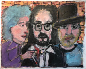 Bob Dylan, Allen Ginsberg, and Lawrence Ferlinghetti – Jack Kerouac Alley by Tom Russell