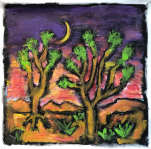 The Land of the Joshua Tree by Tom Russell