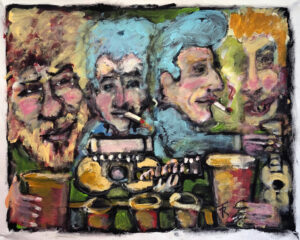 Pub Session in an Irish Dream by Tom Russell