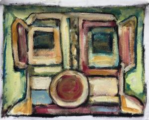 Zuni Kachina by Tom Russell