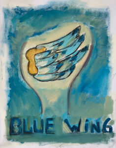 Blue Wing by Tom Russell
