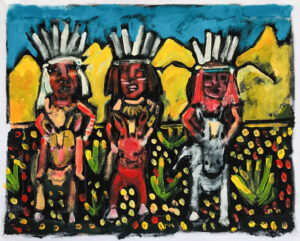 Nez Perce – Horse Shamans by Tom Russell