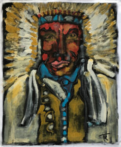 Wooden Leg – Sioux by Tom Russell